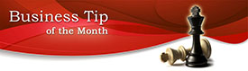 Business Tip Of The Month - Nancy Hanlon Associates